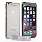 Yousave Accessories iPhone 6 Plus Case Ultra Thin Clear Silicone Gel Cover