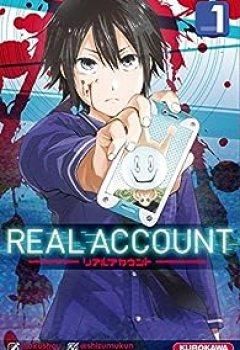 Livres Couvertures de Real Account, Tome 1