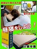 辞書型お昼寝枕☆仕事中毒