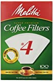 No. 4 Cone White Paper Coffee Filter