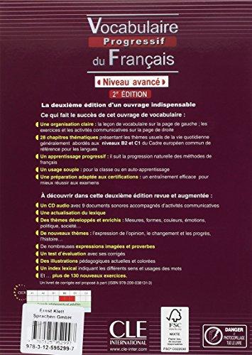 Vocabulaire Progressif Du Fran?ais Niveau Interm?diaire Pdf