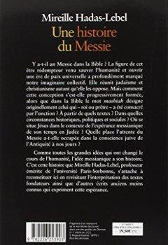 Livres Couvertures de Une histoire du Messie