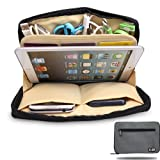 Damai Portable Universal Electronics Accessories Travel Organizer /Ipad Mini Case / Cable Organizer Bag / Makeup Bag (1-grey)
