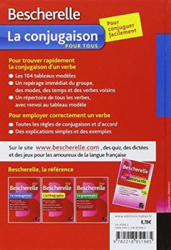 Book's Cover ofBescherelle La conjugaison pour tous: Ouvrage de référence sur la conjugaison française