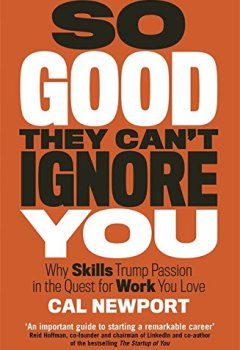 Livres Couvertures de So Good They Can't Ignore You