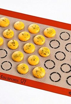 Livres Couvertures de Demarle - Toile de cuisson pour 28 macarons SILPAT Incolore