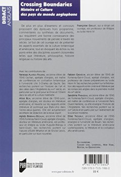 Livres Couvertures de Crossing Boundaries : Histoire et culture des pays du monde anglophone