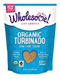 Wholesome Sweeteners, Organic Turbinado Sugar, 24 Oz