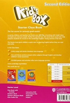 Livres Couvertures de Kid's Box Starter Class Book with CD-ROM