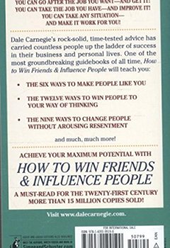 Livres Couvertures de How To Win Friends And Influence People.