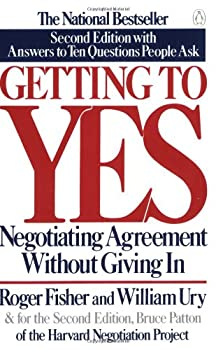 "Cover of ""Getting to Yes: Negotiating Agr..."