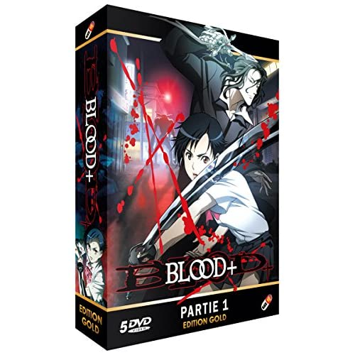 BLOOD+ コンプリート DVD-BOX1 (1-25話, 625分) ブラッドプラス ブラプラ アニメ [DVD] [Import]