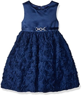 American-Princess-Girls-Soutache-Skirt-with-Buckle-Party-Dress