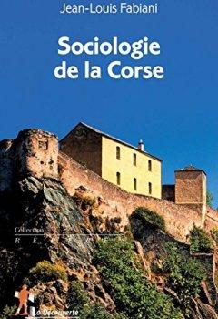 Livres Couvertures de Sociologie de la Corse