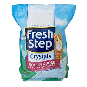 Fresh Step Crystals Cat Litter, 8-Pound Bag