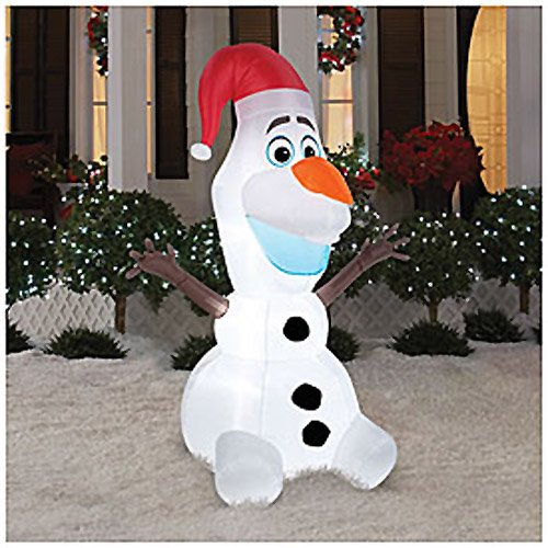 christmas holiday decoration olaf inflatable decorations