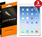 SUPERSHIELDZ- Premium Anti-Glare (Matte) Screen Protector For Apple iPad Air , 5th generation iPad + Lifetime Replacements Warranty [3-PACK] - Retail Packaging