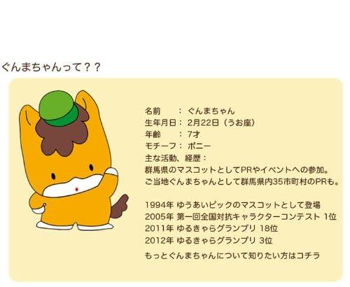 【 iPhone 5 / 5s 】 アイフォン ゆるきゃら ケース ぐんまちゃん Type2