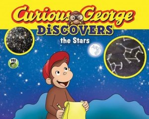 Curious George Discovers the Stars (science storybook) by H. A. Rey | Featured Book of the Day | wearewordnerds.com