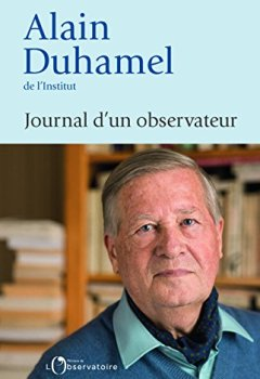 Telecharger Journal d'un observateur de Alain Duhamel