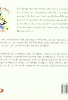 Portada del libro deCuando me enfado: Mensajes sobre el mal humor (Duendelibros para niños)