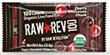Raw Revolution 100 Calorie Organic Live Food Bars, Cherry Chocolate Chunk, 20 Count, 0.8oz Bars