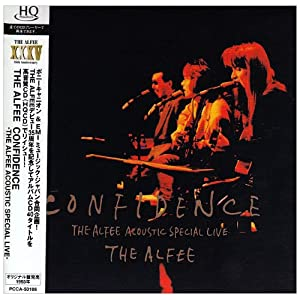 CONFIDENCE -THE ALFEE ACOUSTIC SPECIAL LIVE-をAmazonでチェックする!
