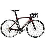 BEIOU® 2016 700C Road Bike Shimano 105 5800 11S Racing Bicycle 500mm 520mm 540mm 560mm T800 Carbon Fiber Bike Ultra-light 18.3lbs CB013A-2