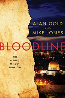 Bloodline: The Heritage Trilogy Book One by Alan Gold| wearewordnerds.com