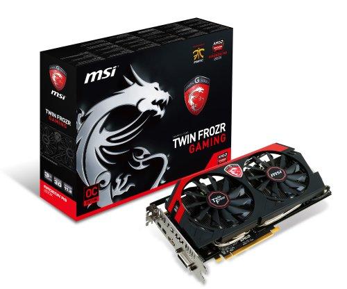 MSI R9 280X Twin Frozr 4S OC グラフィックスボード Radeon R9 280X 3GB 日本正規代理店品 VD5168 R9 280X Twin Frozr 4S OC