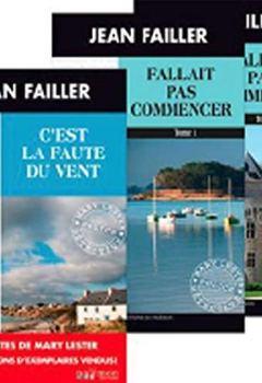Livres Couvertures de Pack en 3 volumes Les enquêtes de Mary Lester : C'est la faute du vent ; Fallait pas commencer Tome 1 et 2