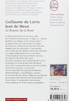 Telecharger Le Roman de la Rose de Guillaume de Lorris