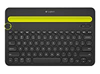 Logitech Bluetooth Multi-Device Keyboard K480 for Computers, Tablets and Smartphones, Black (920-006342) 並行輸入