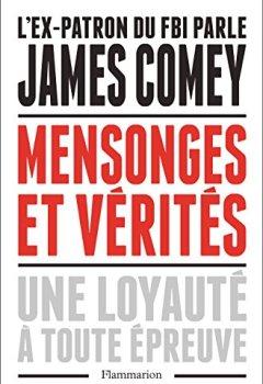 Livres Couvertures de Mensonges et vérités