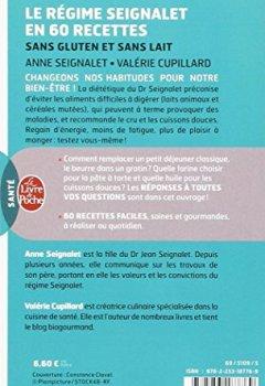 Livres Couvertures de Le Régime Seignalet en 60 recettes sans gluten et sans lait