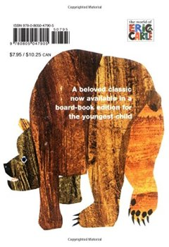 Livres Couvertures de Brown Bear, Brown Bear, What Do You See?