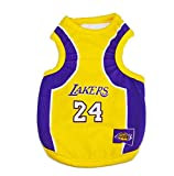 NBA Basketball Shirt for Large/Small Dogs Jersey Sport Outfit Lakers S