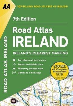 Livres Couvertures de AA Road Atlas Ireland