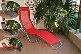 Gartenliege Saunaliege de Luxe - Modell 2011
