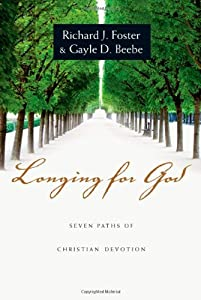"""Cover of """"Longing for God: Seven Paths of..."""