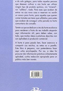 Portada del libro deA horta sen químicos (Baía Verde)