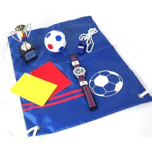 Jungen Set mit Fußballuhr, Sporttaschen und Zubehör