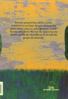 Portada del libro deRosalía pequeniña (Sonárbore)