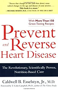 "Cover of ""Prevent and Reverse Heart Disea..."