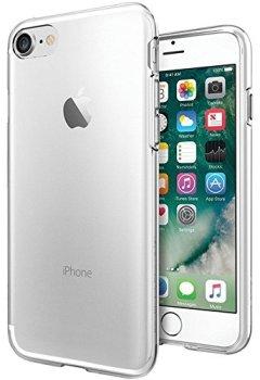 Livres Couvertures de Coque iPhone 7, Coque iPhone 8, Spigen® [Liquid Crystal] Ultra Mince Premium TPU Silicone [Crystal Clear] Premium transparent / Exact Fit / NO Bulkiness Souple Coque Pour iPhone 7 (2016) et iPhone 8 (2017) - (042CS20435)