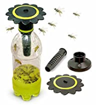 Soda Bottle Wasp Trap - 2 pack
