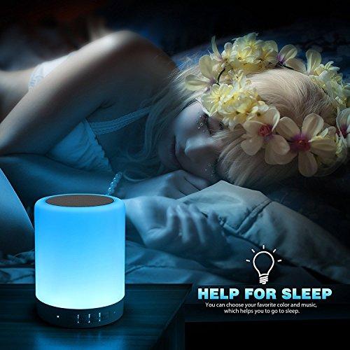 De Led Haut Parleur Touch Lampe Chevet Avec Télécharger Elecstars uJl3TF1c5K