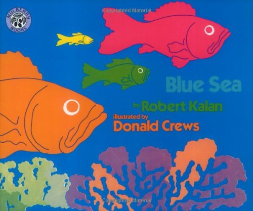 The children's book, Blue Sea.