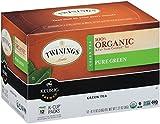 Twinings Organic Pure Green Tea, Keurig K-Cups, 12 Count
