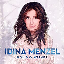 "cover of ""Holiday Wishes"" by Idina Menzel"